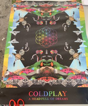 COLD PLAY poster for Sale in Fremont, CA