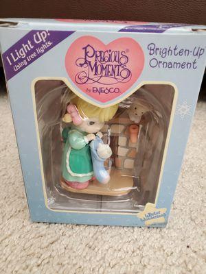New Precious Moments Ornament/MIB/Brighten-Up Ornament/Girl with Stocking for Sale in Huntington Beach, CA