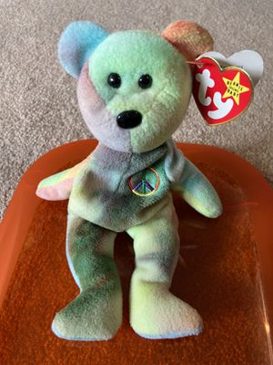 Peace Beanie Babies Bear for Sale in Puyallup, WA
