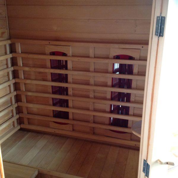 Infrared Sauna (3 person corner configuration design).