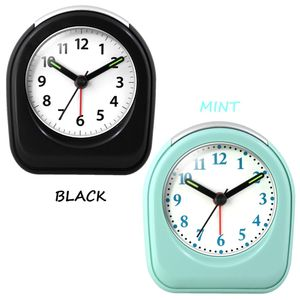 Mini Quartz Analog Alarm Clock in Black & Mint NEW for Sale in Garfield, NJ