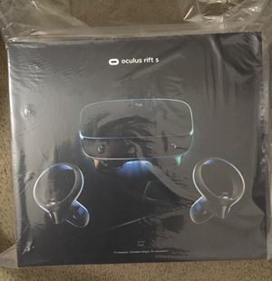 Oculus Rift S PC-Powered VR Gaming Headset for Sale in San Jose, CA
