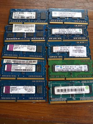 Laptop and desktop memory for Sale in West Palm Beach, FL