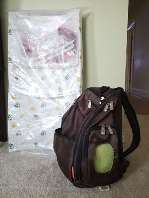Diaper Bag and Contoured Changing Pad for Sale in Portsmouth, VA