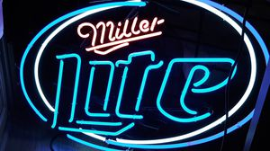 Neon sign (Miller is bright red) for Sale in Springerville, AZ