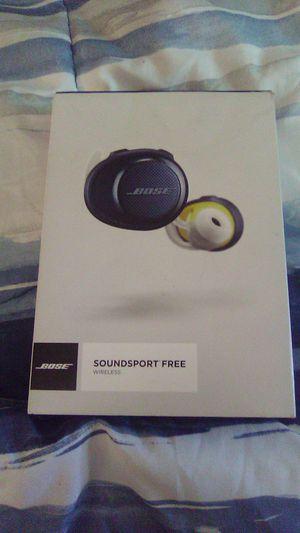 Bose Soundsport Free Earbuds for Sale in Denver, CO