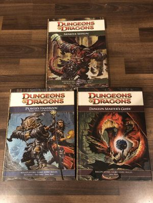 Dungeons and Dragons 4th Edition Books for Sale in Los Angeles, CA