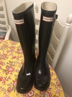 Hunter rain boots women 8 for Sale in Annandale, VA