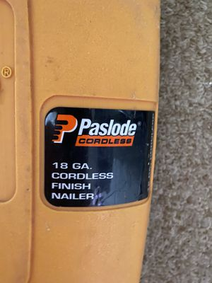 Paslode Nail Gun for Sale in Clinton, MA
