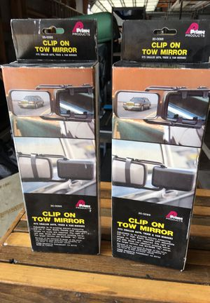 Clip on tow mirrors for Sale in Sullivan, WI