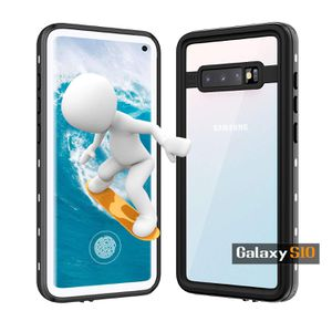 Samsung Galaxy S10 Waterproof Case, Galaxy S10 Case with Built-in Screen Protector,Full Body,Shockproof Dustproof Rugged Protective Clear Cover,Compa for Sale in Torrance, CA