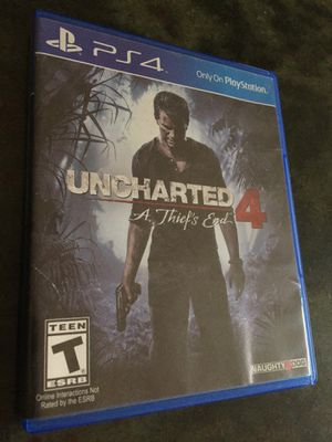 Uncharted 4! for Sale in San Diego, CA