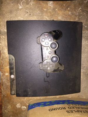 PS3 console with controller. for Sale in San Francisco, CA