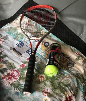 Wilson titanium tennis racket for Sale in Corona, CA