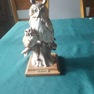 G. Armani 2 Owl Figurine. for Sale in Newburgh Heights, OH