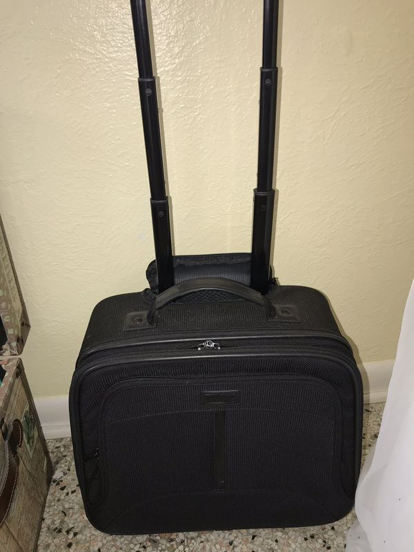 Hartman Black Travel Small Rolling Luggage Carry On