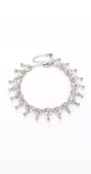 DreamBell Women Silver Color Anklet for Sale in Long Beach, CA
