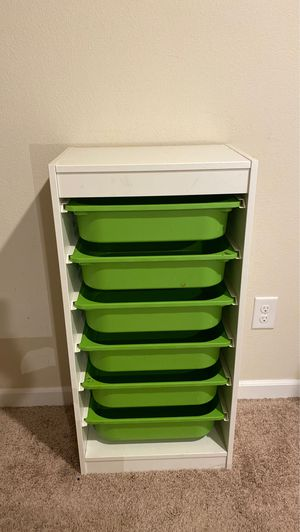 """6 drawers cabinet storage/organizer 37"""" x 18"""" for Sale in Clackamas, OR"""