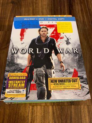 World war z for Sale in Milton, FL