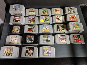 Nintendo 64 N64 Games for Sale in San Mateo, CA