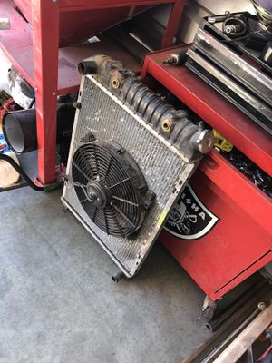Mustang radiator and electric fan for Sale in Roy, WA