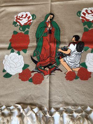 Mexican Rebozo Shawl Virgen de Guadalupe for Sale in Los Angeles, CA
