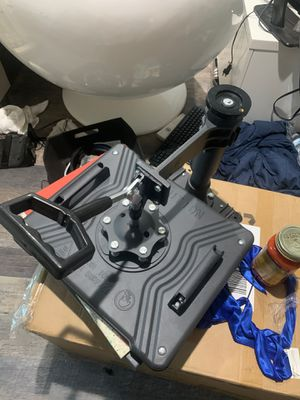 Heat presser comes with printer and equipment for Sale in Charlottesville, VA