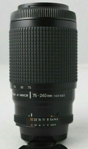 Nikon Nikkor 75-240mm lens for Sale in Sacramento, CA