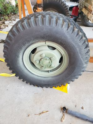 M101 A2 tires/axle for Sale in Buena Park, CA