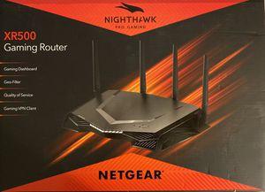 NETGEAR Nighthawk Pro Gaming AC2600 WiFi Router, XR500 for Sale in Irvine, CA