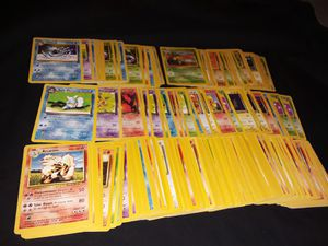Pokemon cards base set jungle fossil rocket for Sale in Philadelphia, PA