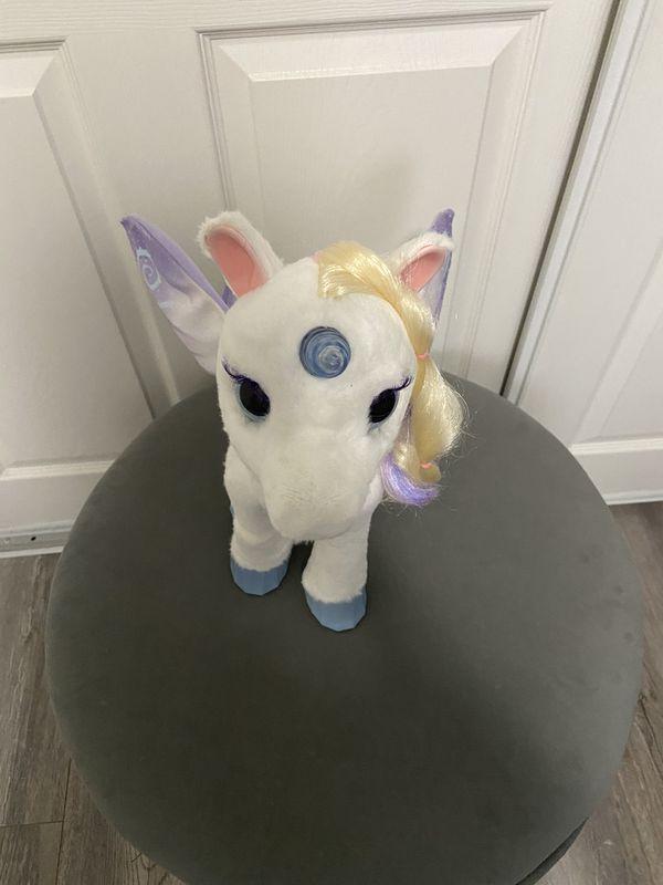 FurReal Friends StarLily Giant Stuffed Talking Unicorn