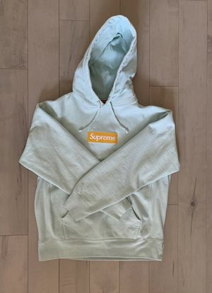 Supreme Ice Blue Box Logo Hoodie for Sale in Youngstown, OH