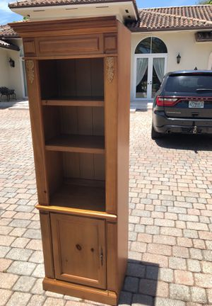 Armoire and bookshelves for Sale in Miami, FL