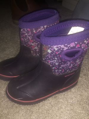 Little Girl Rain Boots Size 9/10 for Sale in Santa Ana, CA