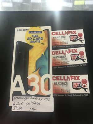 Samsung Galaxy A30 Unlocked T-Mobile Cricket Metro PCs AT&T for Sale in Los Angeles, CA