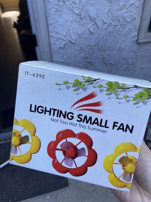 USB lighting small fan for Sale in Artesia, CA