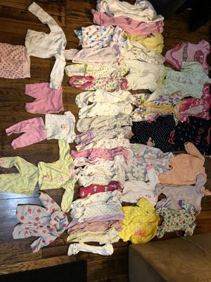 Premie - newborn baby girl clothes for Sale in Saginaw, MI