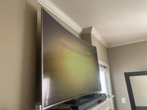 65 Samsung Curved smart tv for Sale in Fairfax, VA
