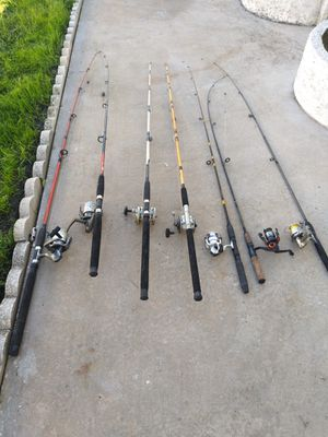Fishing rods and reels for Sale in Bradenton, FL