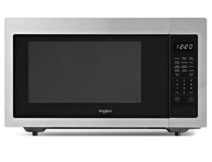 Whirlpool WMC30515HZ - 1.6 cu. ft. Countertop Microwave in Fingerprint Resistant Stainless Steel with 1,200-Watt Cooking Power for Sale in Riverside, CA