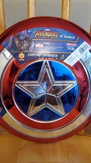 Avengers Captain America metallic shield Halloween costume kids for Sale in Azalea Park, FL