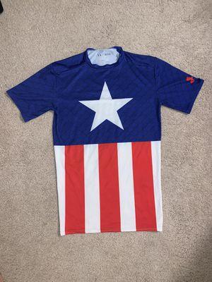 Under Armour Captain America Heat Gear - Size M for Sale in Arlington, VA