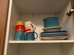 Colorful Ceramic Plates and Mugs - 15 pc for Sale in Ithaca, NY