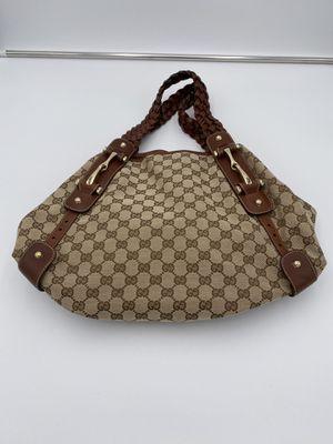 Gucci Monogram Small Pelham Shoulder Bag Light Brown for Sale in Mendham, NJ