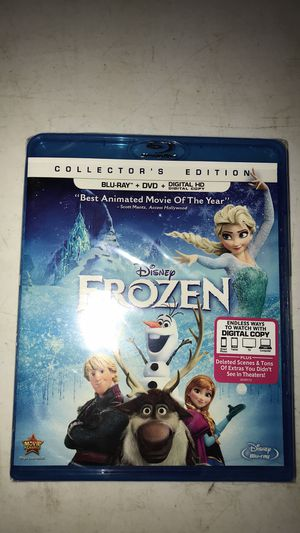 Blu-day DVD's sealed in perfect condition. Frozen, Bambi, toy story 4, little mermaid, lady and the tramp for Sale in Lexington, NC
