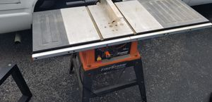 """Black & decker table saw Powerful 15-amp motor; weights just 54-pounds. 10"""" . for Sale in Smyrna, TN"""