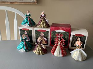 Hallmark Holiday Barbie ornament collection for Sale in Clearwater, FL
