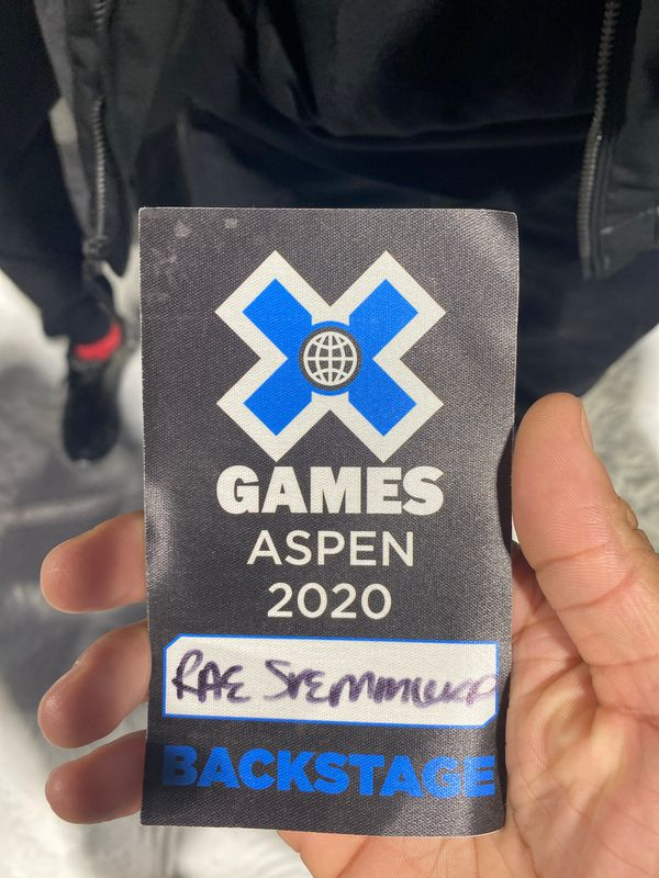 X games pass (backstage)