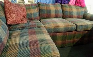 Sectional sofa with pull out bed for Sale in Jeannette, PA
